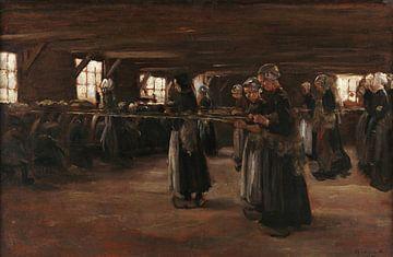 Studie für Flachsscheune in Laren - 1886 von Atelier Liesjes