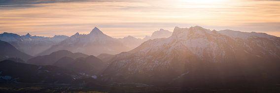 Watzmann und Berchtesgadener Alpen