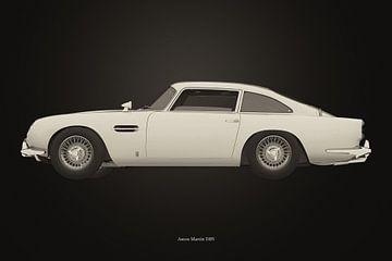 Aston Martin DB5 B&W versie