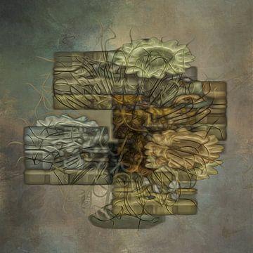 Abstract figuur van Carla van Zomeren