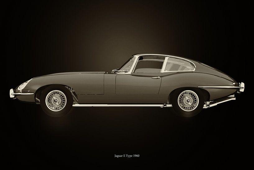 Jaguar E-type van Jan Keteleer