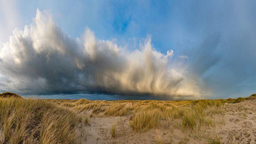 La pluie féroce de Texel De Hors s'arrête sur Texel360Fotografie Richard Heerschap