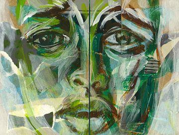 Nieuw pad - groene manier van leven van ART Eva Maria
