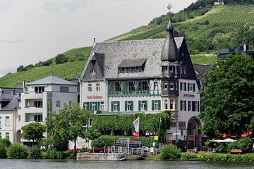 Jugendstilhotel Bellevue in Traben-Trarbach von Berthold Werner