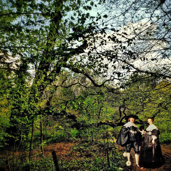 Rembrandt's Marten en Oopjen op Landgoed Stoutenburg van Ruben van Gogh