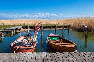 Fischerboote im Hafen von Althagen auf dem Fischland-Darß von Rico Ködder
