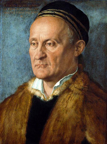 Albrecht Dürer.Porträt von Jakob Muffel von 1000 Schilderijen