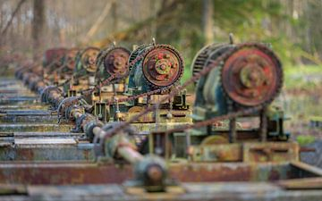 Industrieel erfgoed in Waterloopbos 3 van Jenco van Zalk