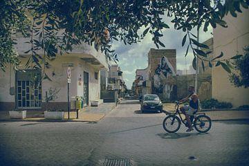 Via Roma (Lampedusa) van Elianne van Turennout