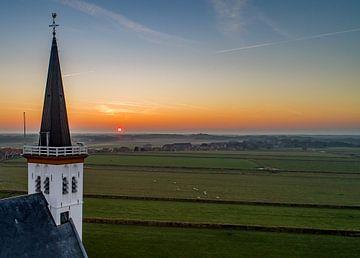 Kerk Den Hoorn - Texel van Texel360Fotografie Richard Heerschap