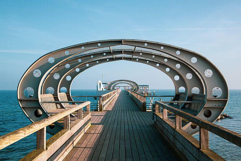 Seebrücke Kellenhusen von Werner Reins