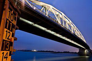 Spoorbrug Nijmegen van Marcel Krijgsman
