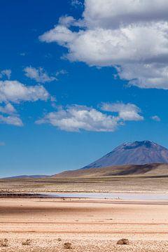 Arequipa, Peru,  Vulkaan Misti van