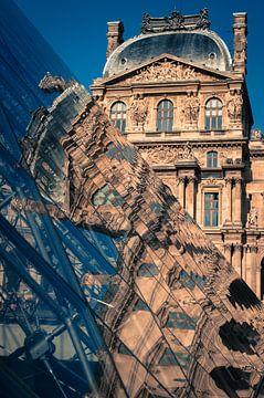 Reflecties, Louvre sur Jeroen Knippenberg