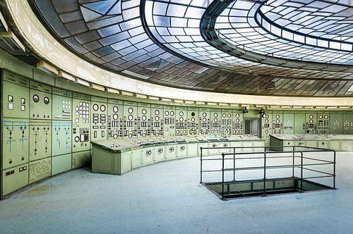 Controle Kamer in Kelenfold Energie Centrale.