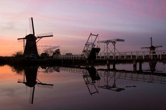 Werelderfgoed molens Kinderdijk van Jeanine Verbraak