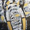 Elefantenkopf von Kathleen Artist Fine Art Miniaturansicht