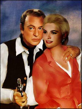 Grace Kelly und Gary Cooper von Christine Nöhmeier