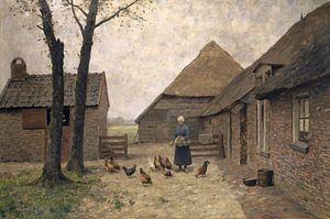 Holländischer Bauernhof, Alphonse Stengelin