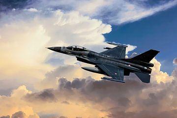 F-16 Fighting Falcon van Gert Hilbink