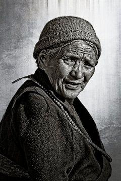 tibetaanse dame sur rene schuiling