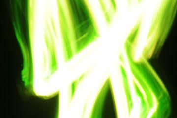 Playing with green light 5 van Karen Boer-Gijsman