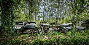 Oude auto's  van