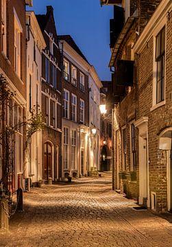 Bergstraat in Oud Deventer van Adelheid Smitt