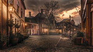 Het gerecht van Leiden. van