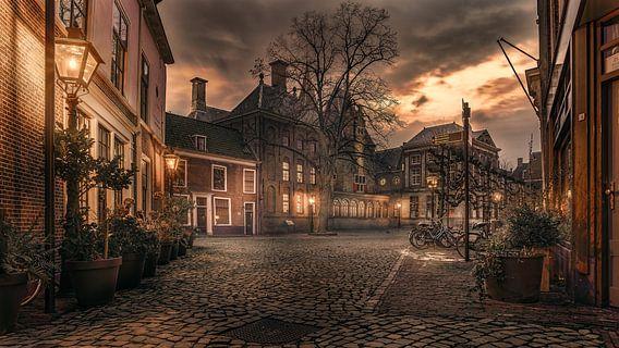 Het gerecht van Leiden.