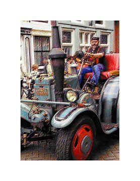 Stoomauto von Arie Van Garderen