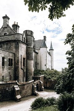 Dunrobin castle in Schotland van