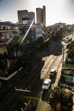 Havana street van Tom  De Wilde