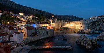 Dubrovnik bei Nacht von Daan Kloeg