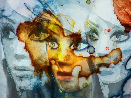Three faces van Gabi Hampe