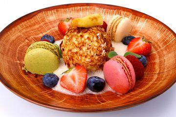 Gefrituurde vanille-ijs van Henny Brouwers