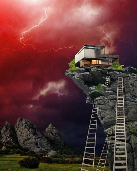 House on the Edge 6 van Ine Tresoor