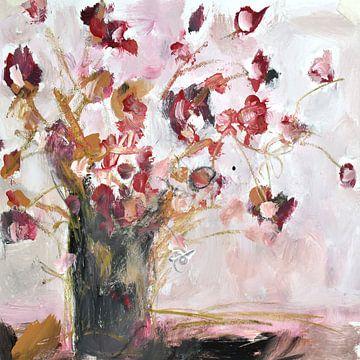 petites fleurs sur Christin Lamade