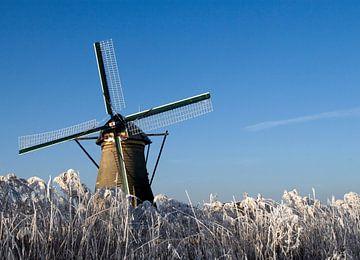 Winterse molen van Thijs Schouten