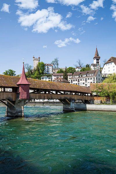 LUCERNE Spreuer Bridge van Melanie Viola