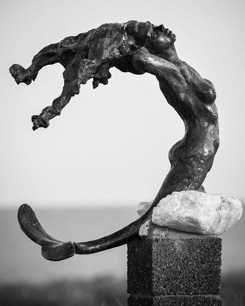 lost mermaid  van Stephanie Prozee
