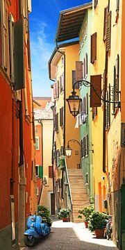 Oude stad idylle van Riva del Garda van