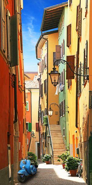 Oude stad idylle van Riva del Garda van Monika Jüngling
