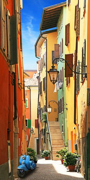Oude stad idylle van Riva del Garda