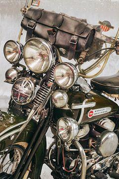 La Harley Davidson II Vintage sur Martin Bergsma