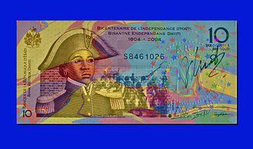 Bankbiljet Haïti JM0230op