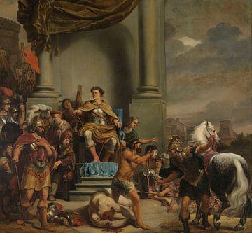 Konsul Titus Manlius Torquatus hat seinen Sohn Ferdinand Bol geköpft