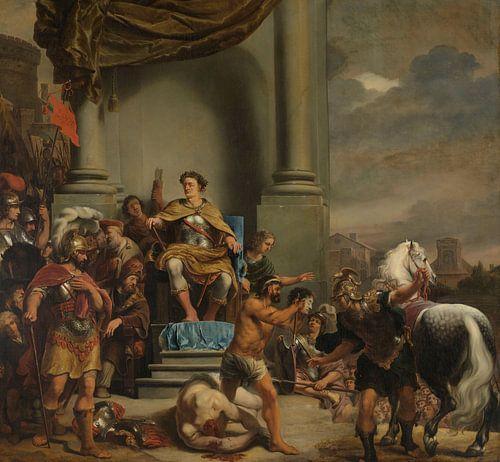 Consul Titus Manlius Torquatus laat zijn zoon onthoofden, Ferdinand Bol van