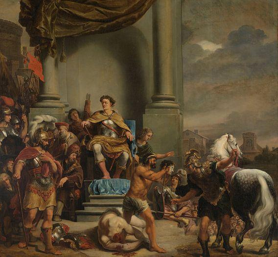 Consul Titus Manlius Torquatus laat zijn zoon onthoofden, Ferdinand Bol van Diverse Meesters