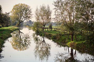 Hollands herfstlandschap van Dick Besse
